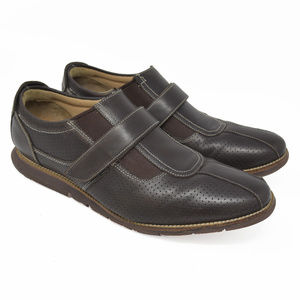 Cole Haan Grand OS Sz 11.5M Brown Monk Strap Shoes